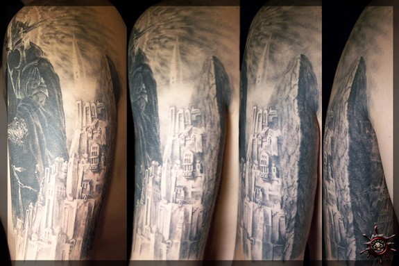 Tattoos - Minas Tirith, the White City - 51959