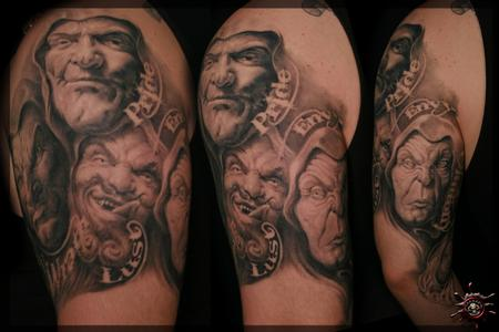 Enrico Montagna - The Guys on the Outside Tattoo Design Thumbnail