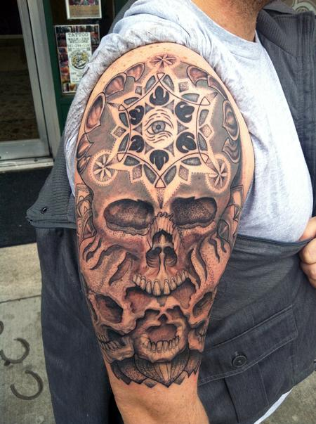 Canyon Webb - 3 skulls