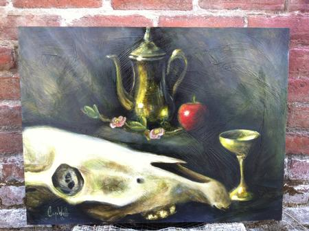 Tattoos - Still life painting with Oils - 68047