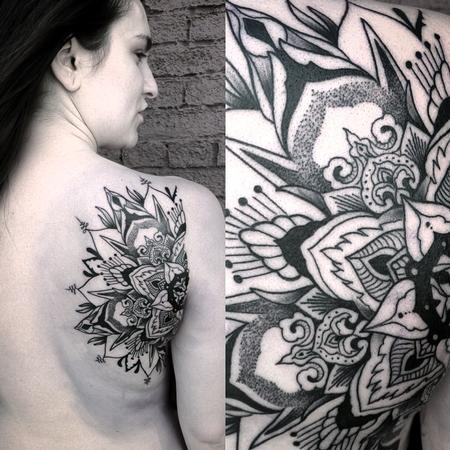 Canyon Webb - Mandala Back of shoulder
