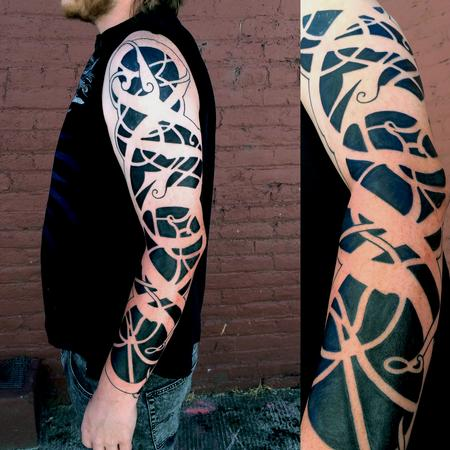 celtic knot sleeve Tattoo Design