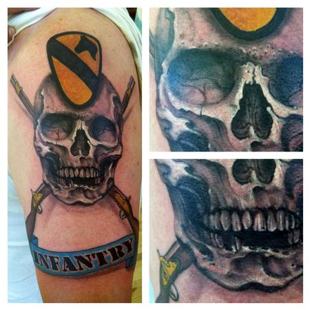 Tattoos - infantry tattoo - 77977