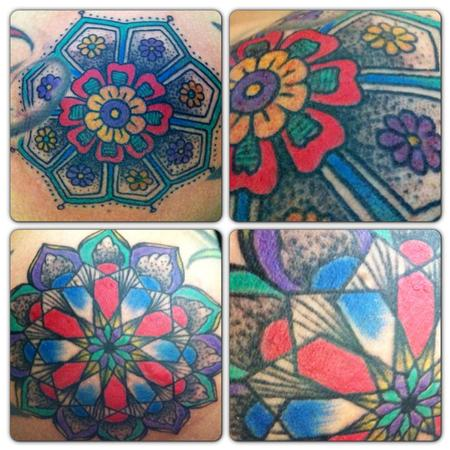 Tattoos - pinwheels - 79642