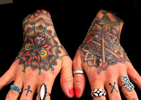 Tattoos - Badass hand tattoos - 85641