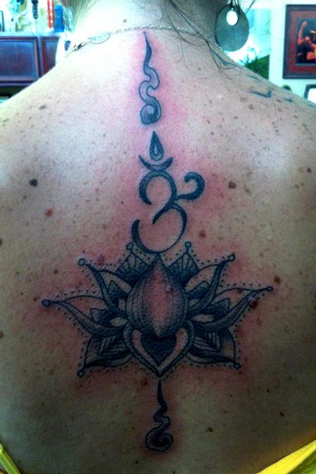 Tattoos - Lotus mandala - 77972