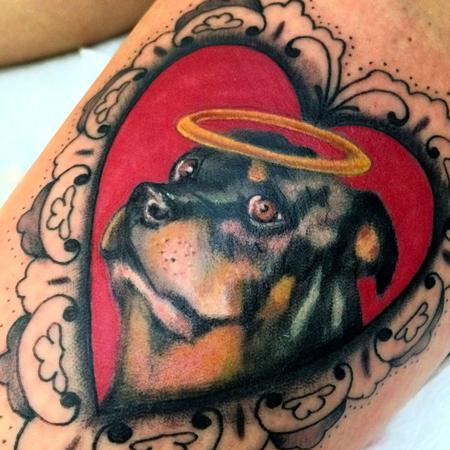 Tattoos - Dog portrait - 93782