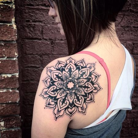 Tattoos - Mandala  - 100677