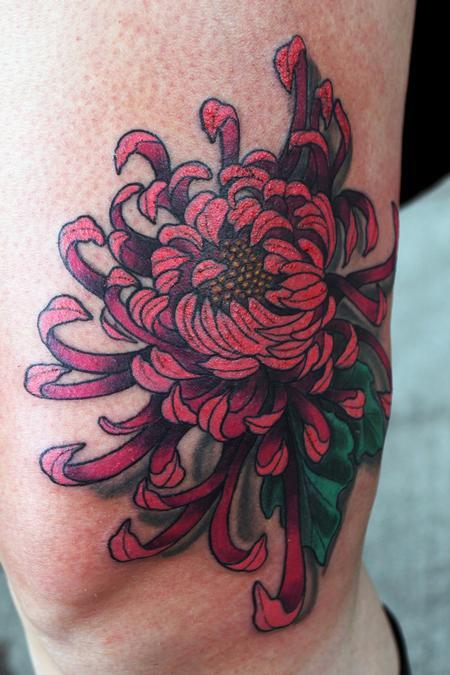 Tattoos - Second angle of the Chrysanthemum - 77054