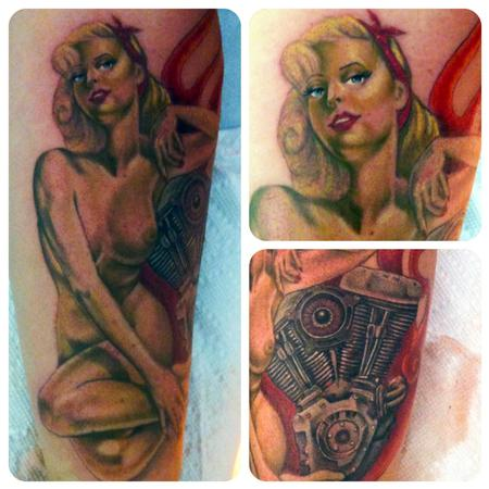 Tattoos - vargas pinup - 82195