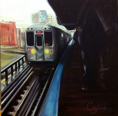 Tattoos - subway painting-oils - 74153