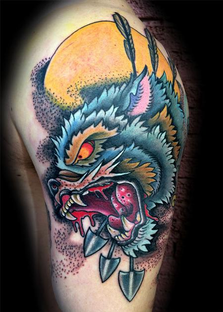 Tattoos - Wolf hunter - 89554