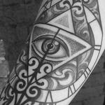 Time and all seeing eye Tattoo Design Thumbnail