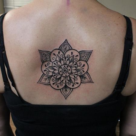 Mandala Back Piece  Design Thumbnail