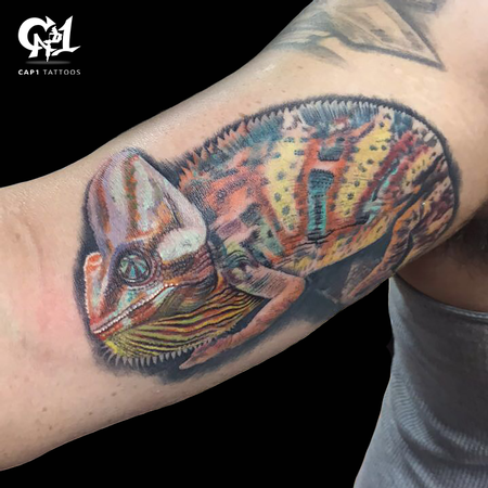 Tattoos - Chameleon Tattoo  - 125557
