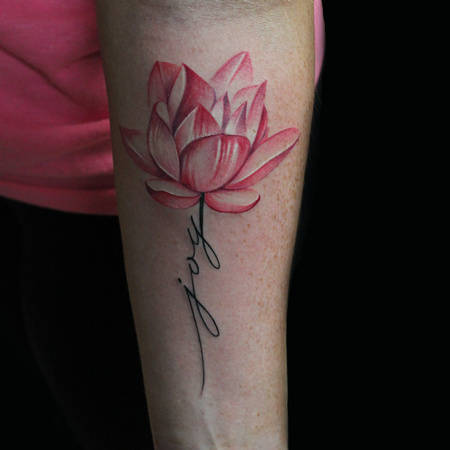 Joy Lotus Flower Design Thumbnail