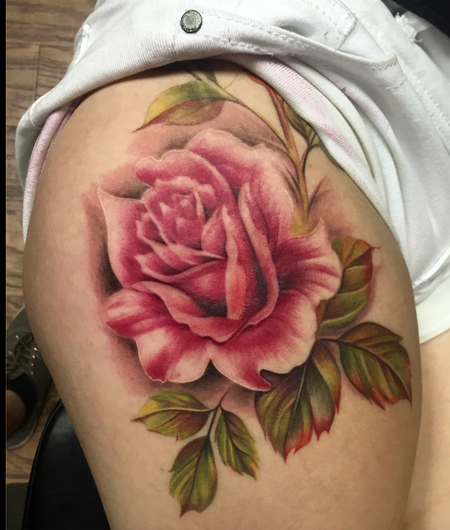 Capone - Vintage Rose Tattoo