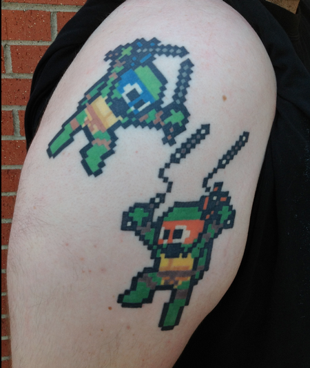 Tattoos - Ninja Turtle Tattoo - 114698