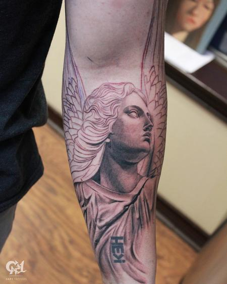 Capone - Stone Angel Tattoo