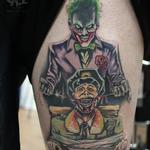 Tattoos - Joker Cartoon Tattoo  - 123479
