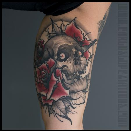 Skull. Tattoo Design