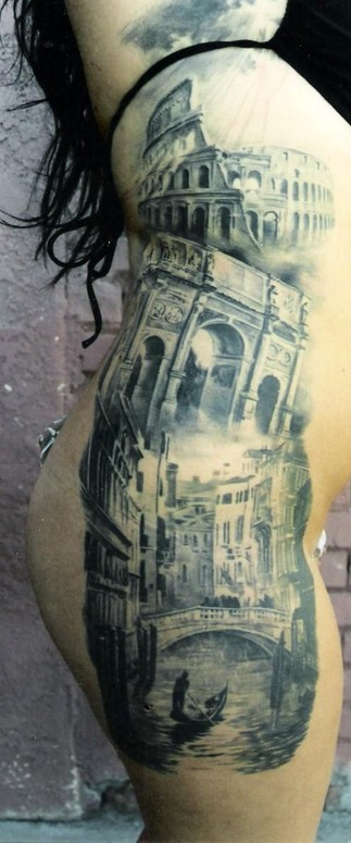 Venice tattoo by carlos torres tattoonow for Top 10 tattoo shops in nyc