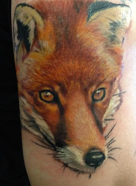 Fox Tattoo Tattoo Design