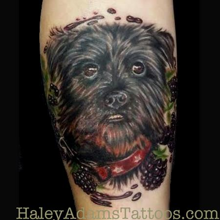 Tattoos - Puppa and Blackberries - 102277