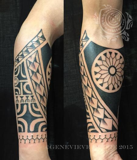 Tattoos - Ornamental Blackwork - 126594