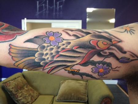Tattoos - bird - 124830