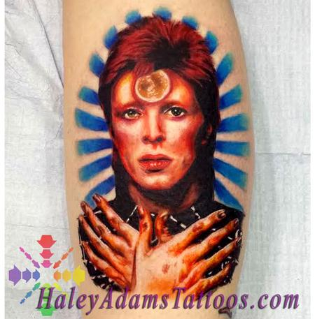 Tattoos - David Bowie Tattoo - 116849
