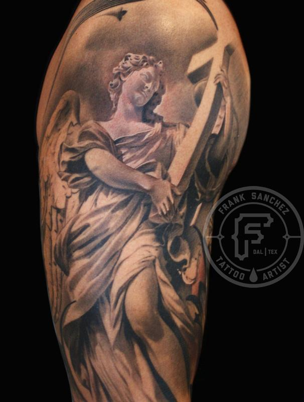 Tattoos - Angel Statue - 67379
