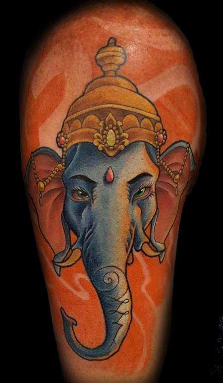 Tattoos - Ganesh - 129096