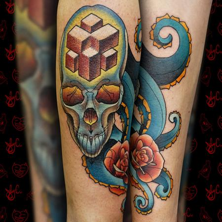 Joby Cummings - Octo-Skull
