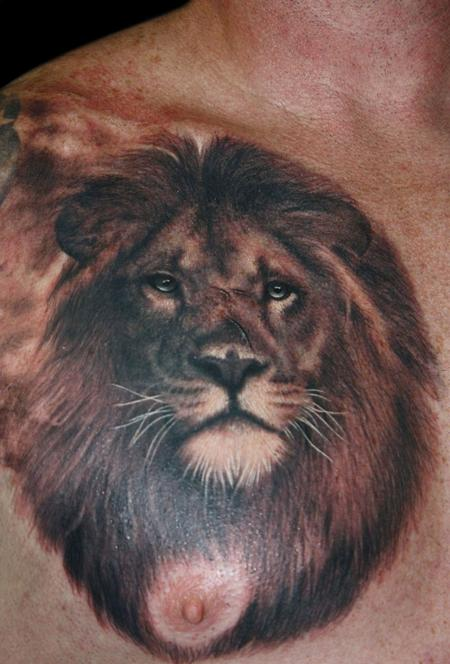 Tattoos - Lion  - 63149