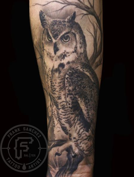 Francisco Sanchez - Owl sleeve
