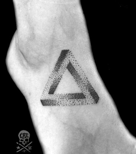 Tattoos - Geometric Triangle - 125258