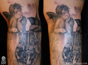 Tattoos - Raphael Angels - 46615
