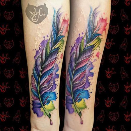 Tattoos - Feather - 126941