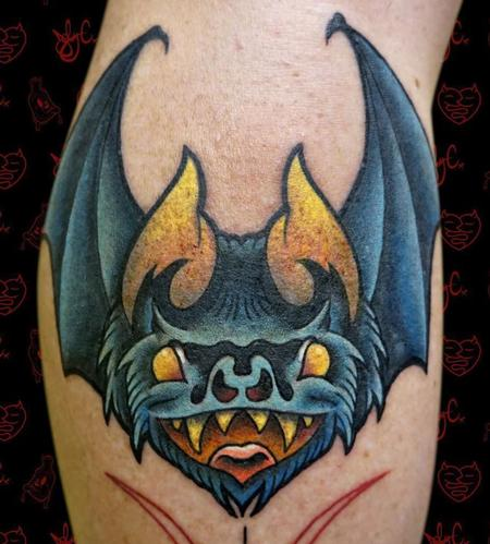 Tattoos - Bat - 128124