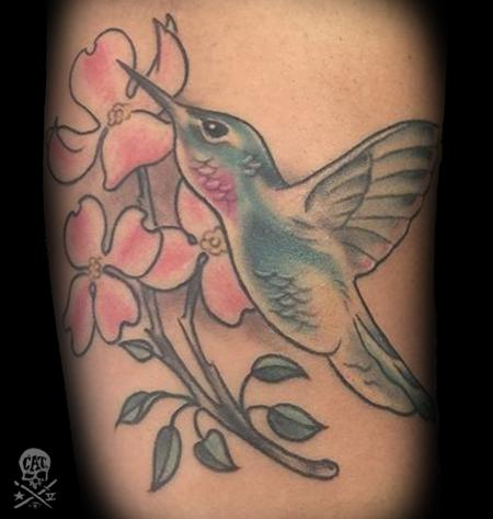 Tattoos - Humming Bird - 129310