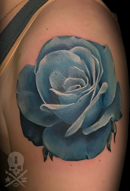 Tattoos - Blue Rose - 132931