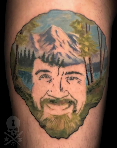 Bob Ross Design Thumbnail