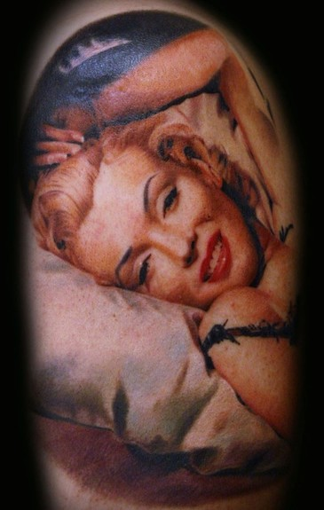 Francisco Sanchez - marilyn monroe portrait