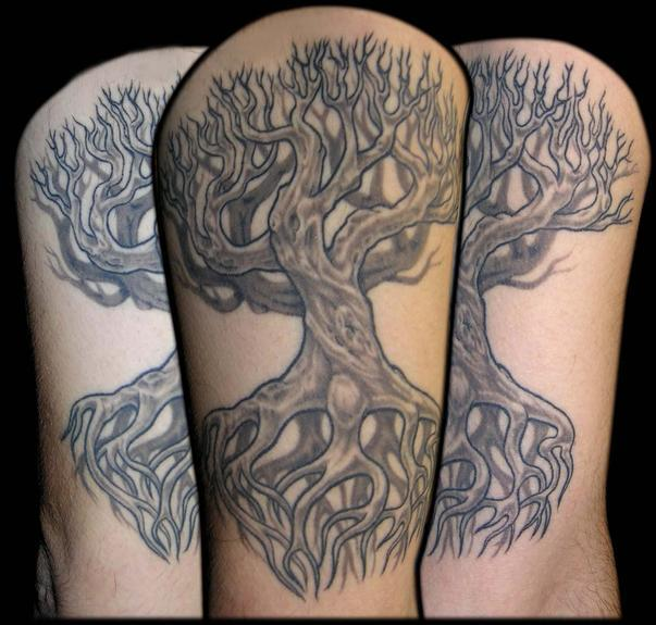 family tree by aaron goolsby tattoonow. Black Bedroom Furniture Sets. Home Design Ideas