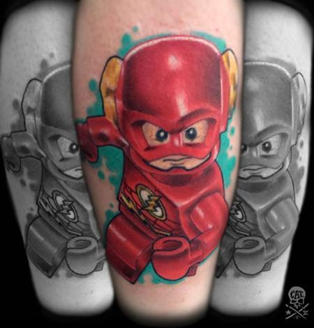 Tattoos - Lego Flash - 125253