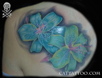 Tattoos - Flowers - 46606