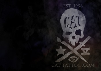  - Cat Tattoo Desktop Pattern