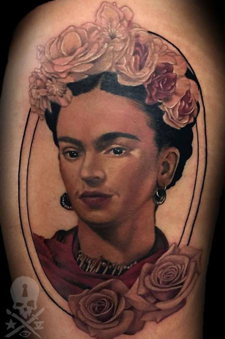 Tattoos - Frida Kahlo - 131059