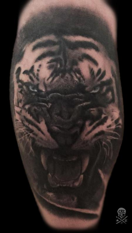 Tattoos - Tiger - 127832